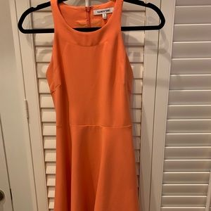 Cute Orange midi / sheath Summer dress!